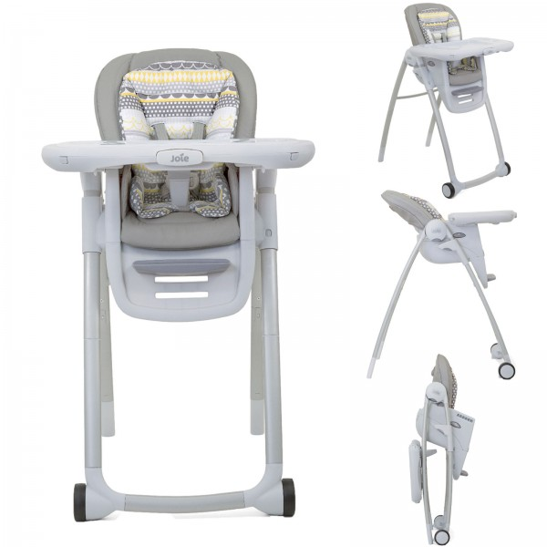 Joie Mothercare Exclusive Multiply 6in1 Highchair - Heyday Grey