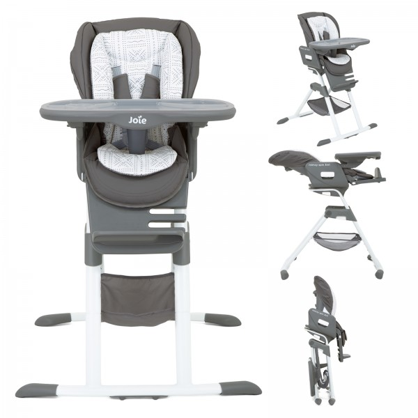 Joie Mothercare Mimzy Spin 3 in 1 Highchair - Tile