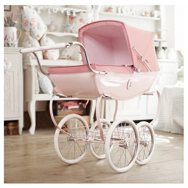 Silver Cross Chatsworth Dolls Pram - Rose