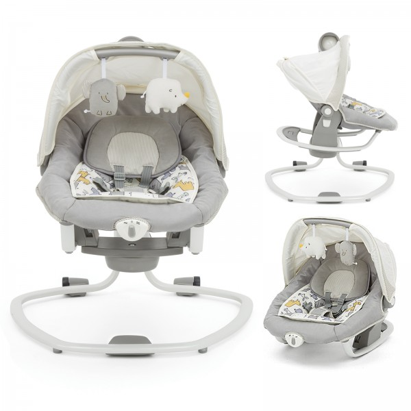 Joie Mothercare Haven Serina Deluxe 3in1 Swing / Rocker - Urban Safari