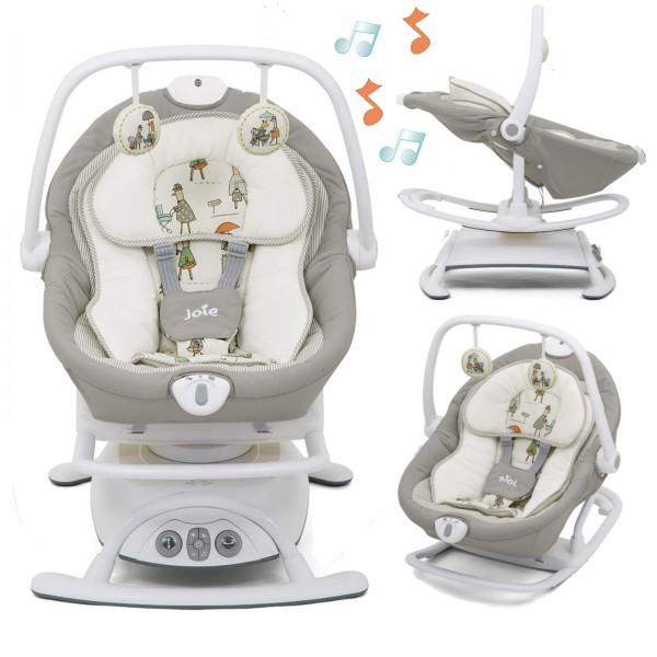 Joie Sansa 2in1 Rocker / Soother - In The Rain