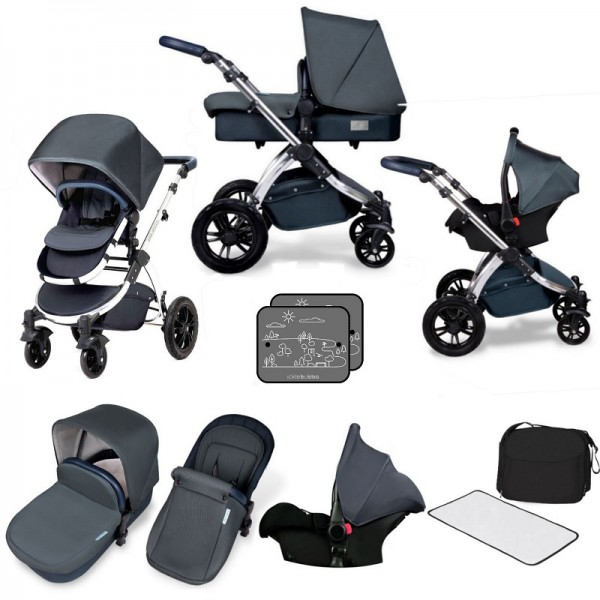 Ickle bubba Special Edition Stomp V4 All In One Travel System - Blueberry