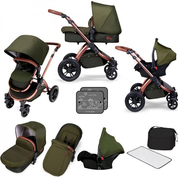 Ickle bubba Special Edition Stomp V4 All In One Travel System - Woodland