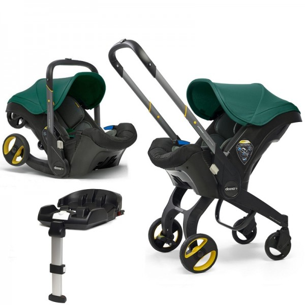 Doona Infant Car Seat / Stroller With Isofix Base - Racing Green