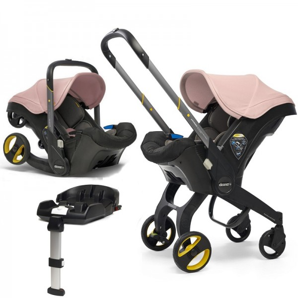 Doona Infant Car Seat / Stroller With Isofix Base - Blush Pink