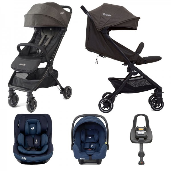 Joie Mothercare Pact Travi (i-Snug & i-Venture) Travel System with Isofix Base Bundle - Ember