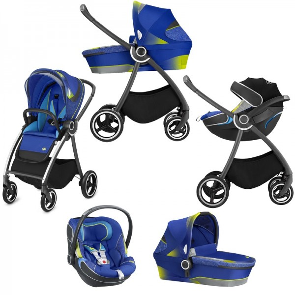 Cybex GB Maris 2 FE (Bold) Travel System - Sports Blue