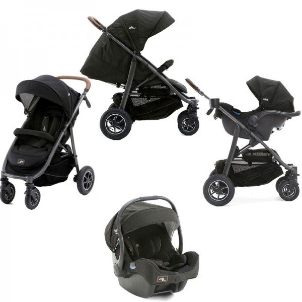 Joie Limited Edition MyTrax Flex (I-Gemm) Travel System - Signature Noir
