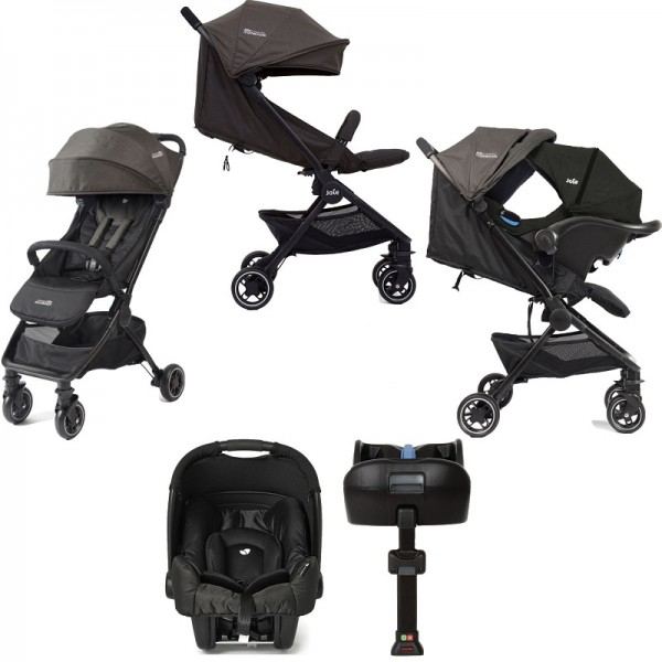 Joie Mothercare Pact Travi (Gemm) Travel System with ISOFIX Base - Ember