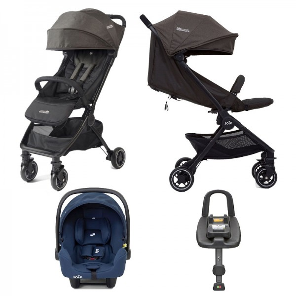 Joie Mothercare Pact Travi I-Snug Travel System with ISOFIX Base - Ember