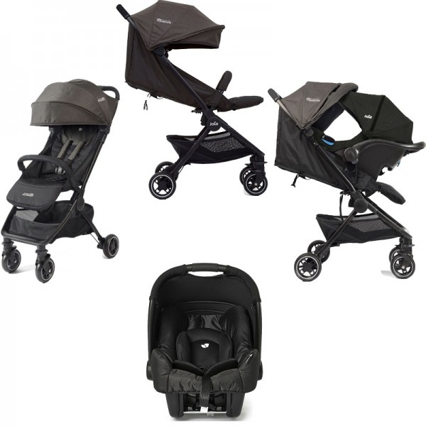 Joie Mothercare Pact Travi (Gemm) Travel System - Ember