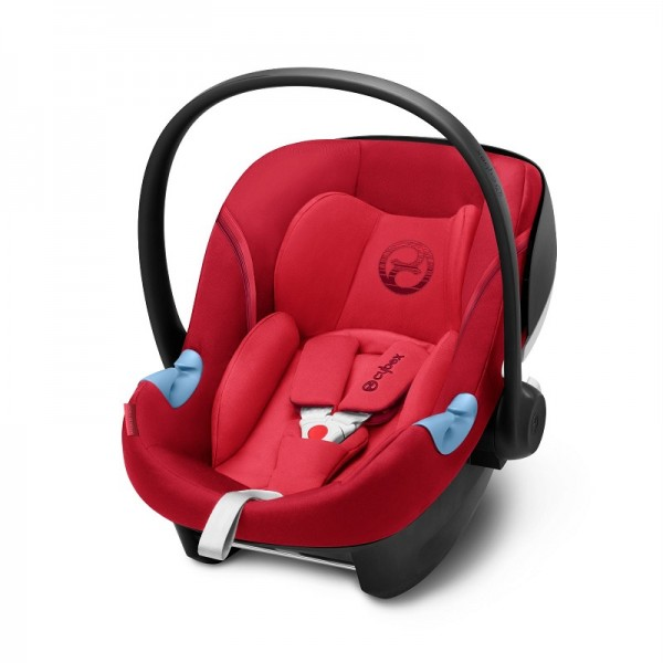 Cybex Aton M i-Size Car Seat - Rebel Red