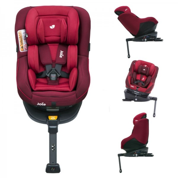 Joie Spin 360 Group 0+/1 Isofix Car Seat - Merlot