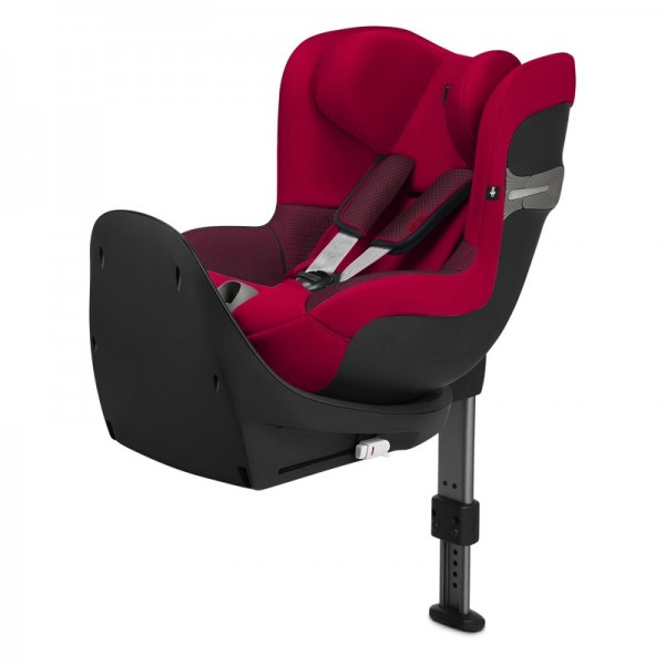 Cybex Ferrari Sirona Gold S i-Size 360 Spin Car Seat with Base - Racing Red