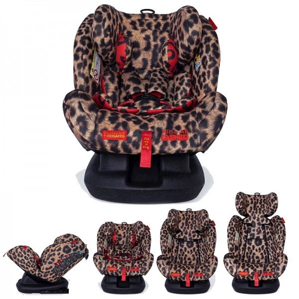 Cosatto Paloma All In All Group 0+,1,2,3 Isofix Car Seat - Hear Us Roar