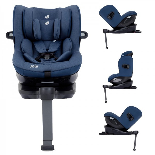 Joie i-Spin 360 iSize Group 0+/1 Car Seat - Deep Sea (iSize)