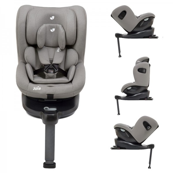 Joie i-Spin 360 iSize Group 0+/1 Car Seat - Grey Flannel (iSize)