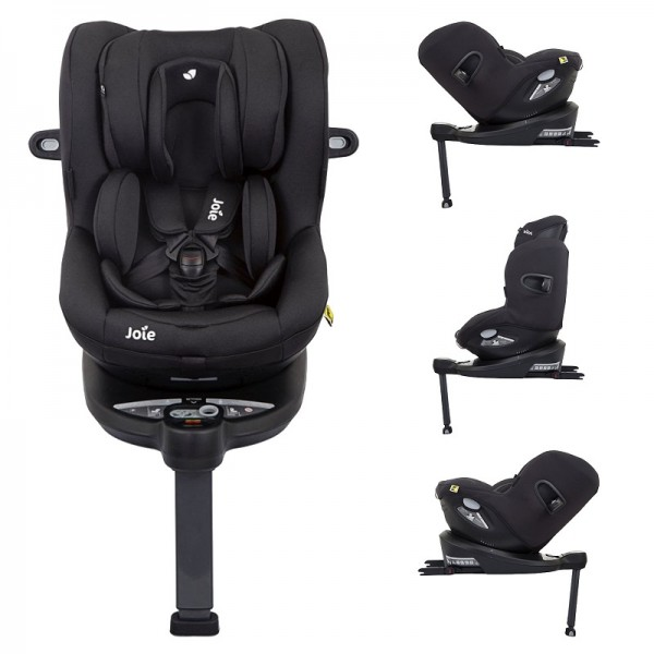 Joie i-Spin 360 iSize Group 0+/1 Car Seat - Coal (iSize)