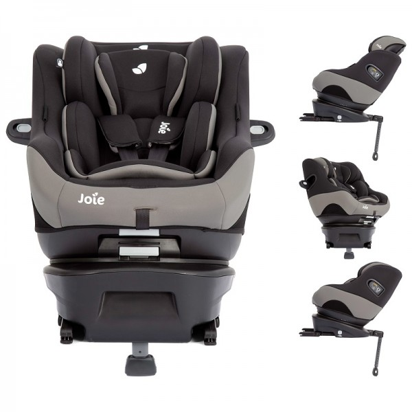 Joie Spin Safe Group 0+/1 Car Seat - Black Pepper