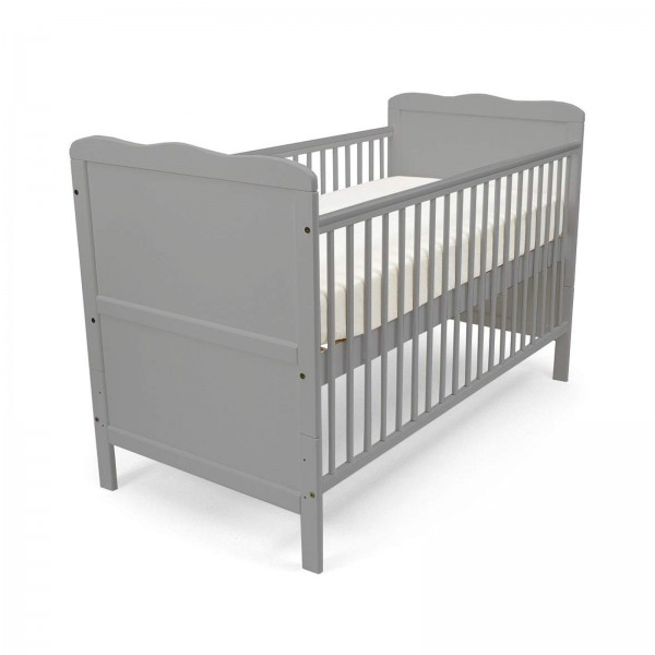 4Baby Classic Cot Bed - Grey