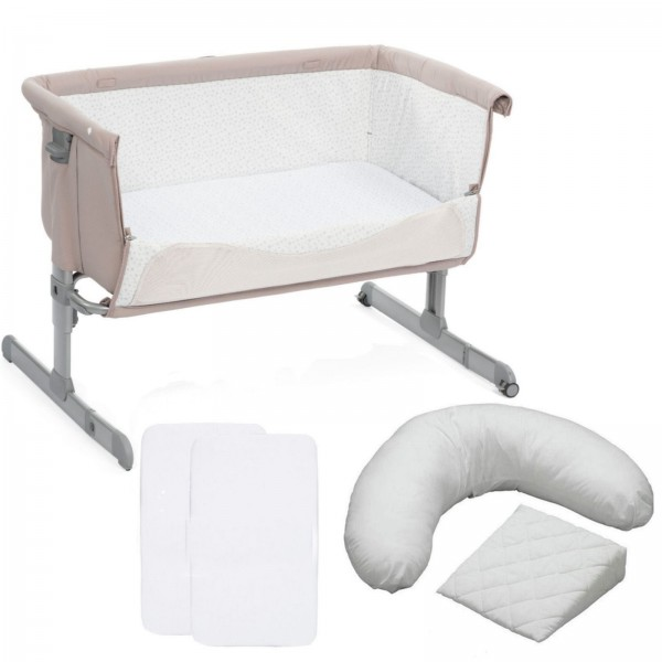 Chicco Next2me Bedside Crib 5 Piece Nursery Bundle - Chick To Chick